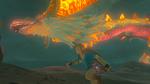 Link Dragon BOTW