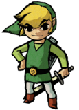 Link en The Wind Waker