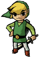 Link en The Wind Waker