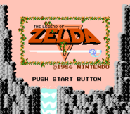Title Screen (The Legend of Zelda)