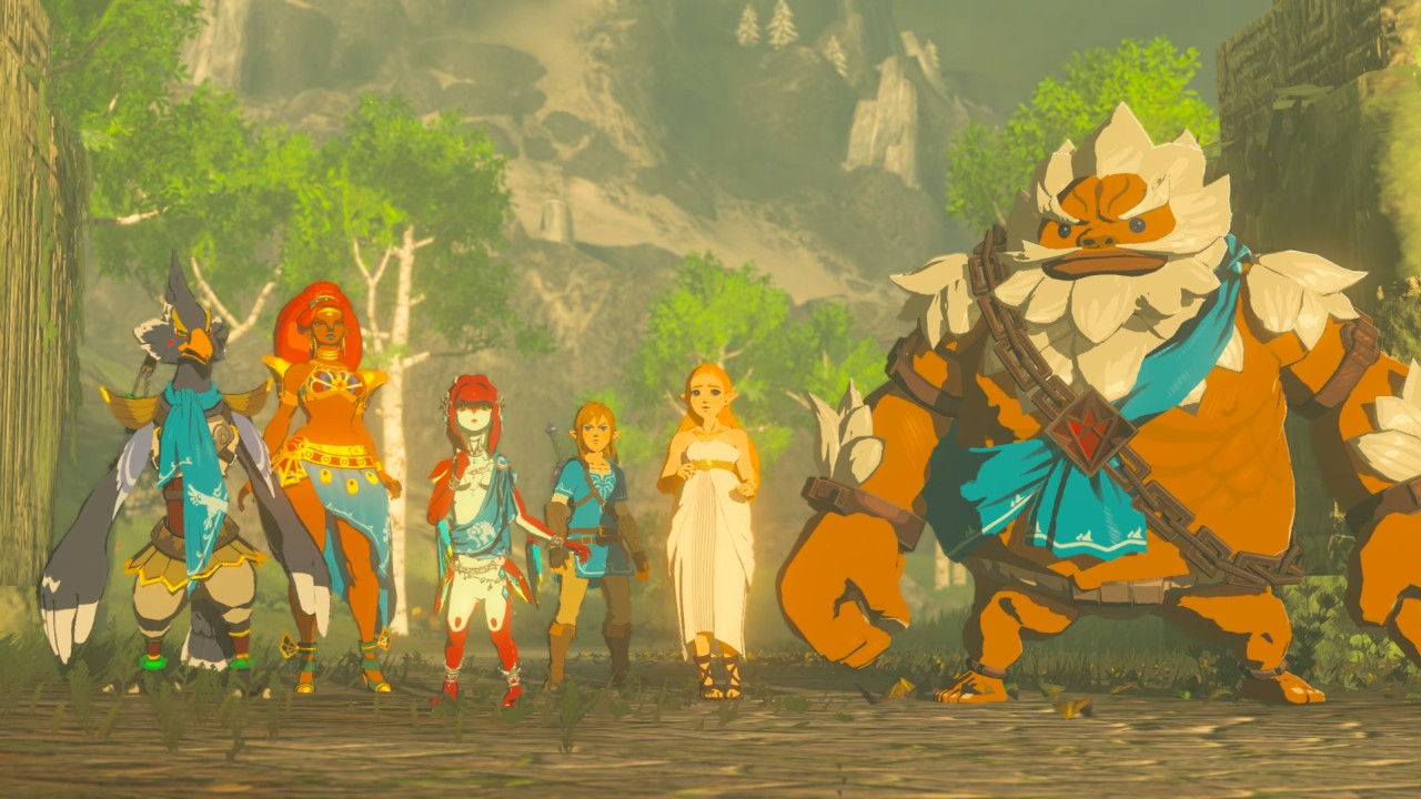 Image result for breath of the wild champions