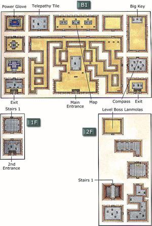 Desert Palace Map