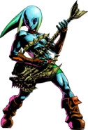 Majora's Mask 3D Artwork Zora Link - Guitar of Waves (Official Artwork)