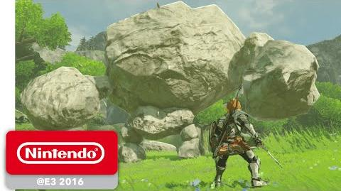 The Legend of Zelda Breath of the Wild - Official Game Trailer - Nintendo E3 2016
