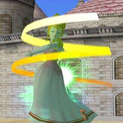 Zelda usa il Vento di Farore