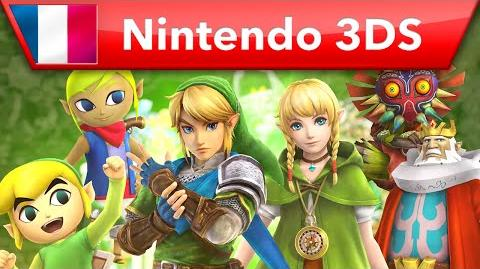 Hyrule Warriors Legends - Bande-annonce Personnages