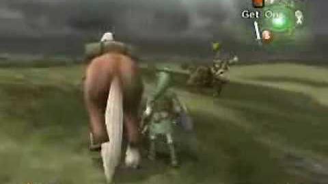 Legend of Zelda Twilight Princess Horse battle
