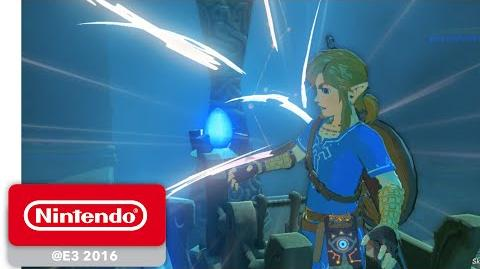 The Legend of Zelda Breath of the Wild - Shrine of Trials Gameplay Partie 1 - E3 2016