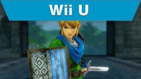 Wii U -- Hyrule Warriors Trailer with Link and a Hylian Sword