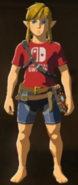 Breath of the Wild Armor Nintendo Switch Shirt (DLC Armor)