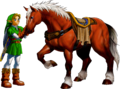 Link and Epona (Ocarina of Time).png