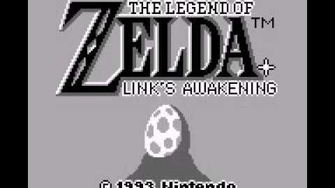 The Legend of Zelda Link's Awakening (GB) Intro
