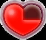 ALBW Corazón tres cuartos