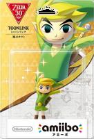 Embalaje japonés del amiibo de Toon Link (The Wind Waker) - Subserie 30 aniversario