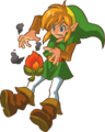 Link with Ember Seed