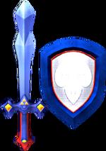 Magic Sword and Magic Shield