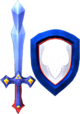 Magic Sword and Magic Shield