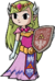 Princess Zelda The Minish Cap