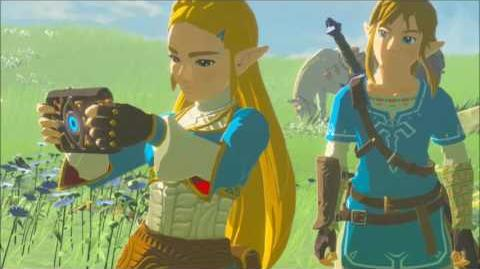 The Legend of Zelda Breath of the Wild - Der Prinzessinnen Enzian Erinnerung Cutscene (Nr