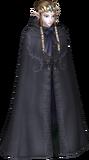 Zelda cubierta mostrando cabeza TP
