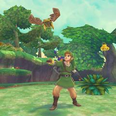 Link lancia lo Scarabeo