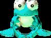 Grenouille bleue MM3D