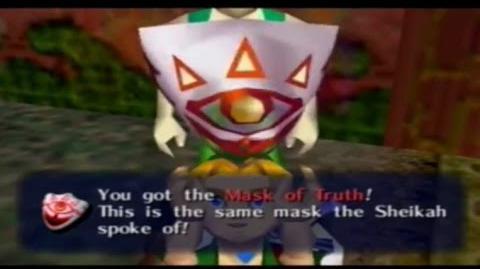Majora´s Mask - Máscara de la Verdad.