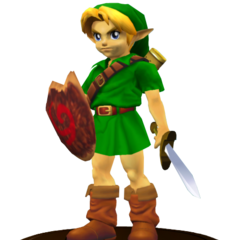 Young Link trofeo