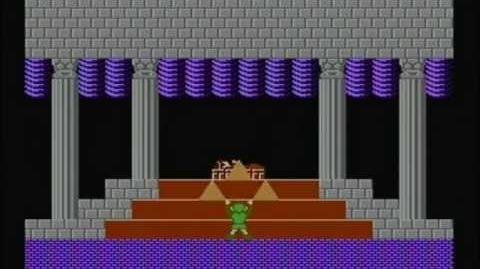 Zelda the adventure of link - Final Boss Dark Link
