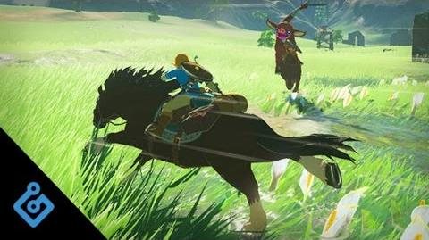 20 Minutes of Zelda Breath of the Wild Gameplay From The Nintendo Switch