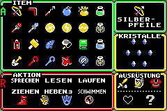 Alle Gegenstände (A Link to the Past)