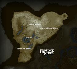 Carte Province d Hebra BOTW