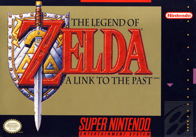 Link To The Past box art