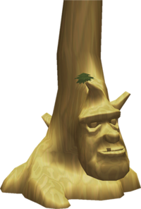 Arbre Mojo figurine