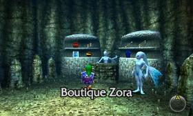 Boutique Zora OoT3D