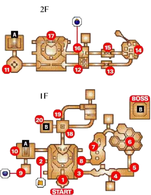 Dodongos Höhle Map