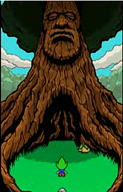 Great Deku Tree (Freshly-Picked Tingle's Rosy Rupeeland)