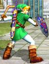 Link con el Bumerán en Soulcalibur II