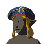 BotW Royal Guard Armor Set (The Champion' Ballad DLC) Royal Guard Cap (Icon)