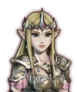 Hyrule Warriors Wizzro Imposter Zelda (Dialog Box Portrait)