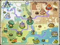 Neues Hyrule Landkarte