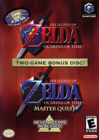 Файл:The Legend of Zelda - Ocarina of Time Master Quest (North America).png