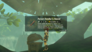Breath of the Wild Korok Wooden Sword Forest Dweller's Sword (Floria Bridge)