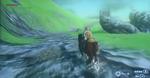 Ciervo en la demo de TLoZ Wii U
