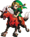 Link and Epona (Majora's Mask)