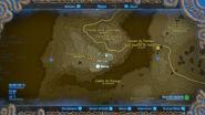 Pilares ancestrales marcados en el mapa