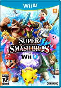 Pochette SSB WiiU