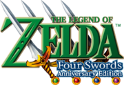 The Legend of Zelda - Four Swords Anniversary Edition (logo)
