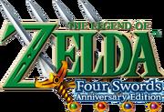 The Legend of Zelda - Four Swords Anniversary Edition (logo)