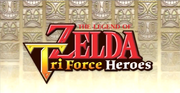 Triforce Heroes Logo